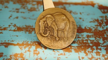 "Society of Medalists 27th Issue Bronze Medal ""Africa/Watering Hole"""