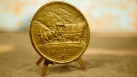 "Society of Medalists 45th Edition Bronze Medal ""Pony Express/New Frontier"""