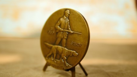 "Society of Medalists 1st Edition ""Hunter and Dog"""