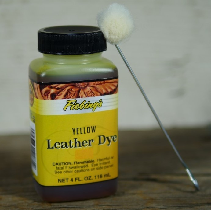 Fiebing's Yellow Leather Dye 4 FL. OZ TP160012