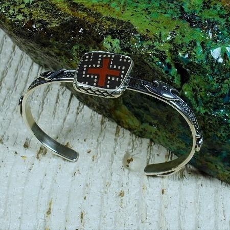 Sterling Silver Mata Ortiz Bracelet JE160240