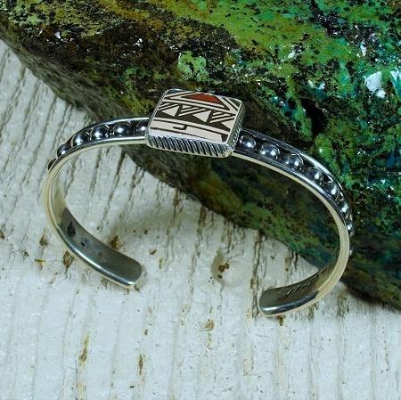 Sterling Silver Mata Ortiz Bracelet JE160241