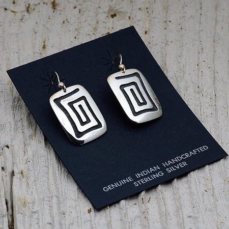 Sterling Silver Earrings by Anderson Koinva JE160268