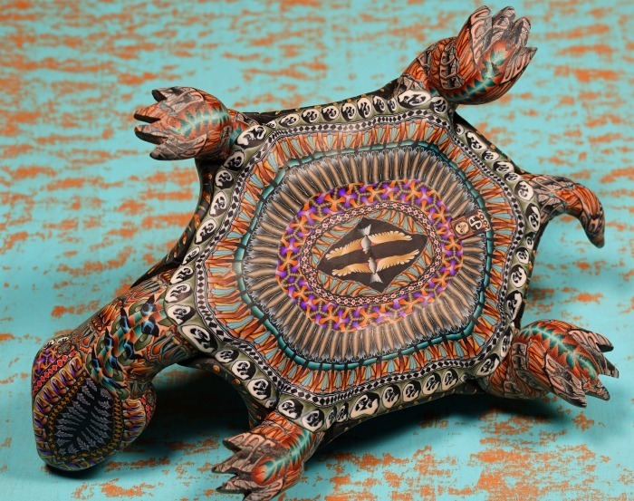 FIMOCREATIONS LARGE TURTLE