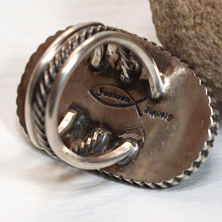 Tommy Jackson Kingman Waterweb Turquoise Ring