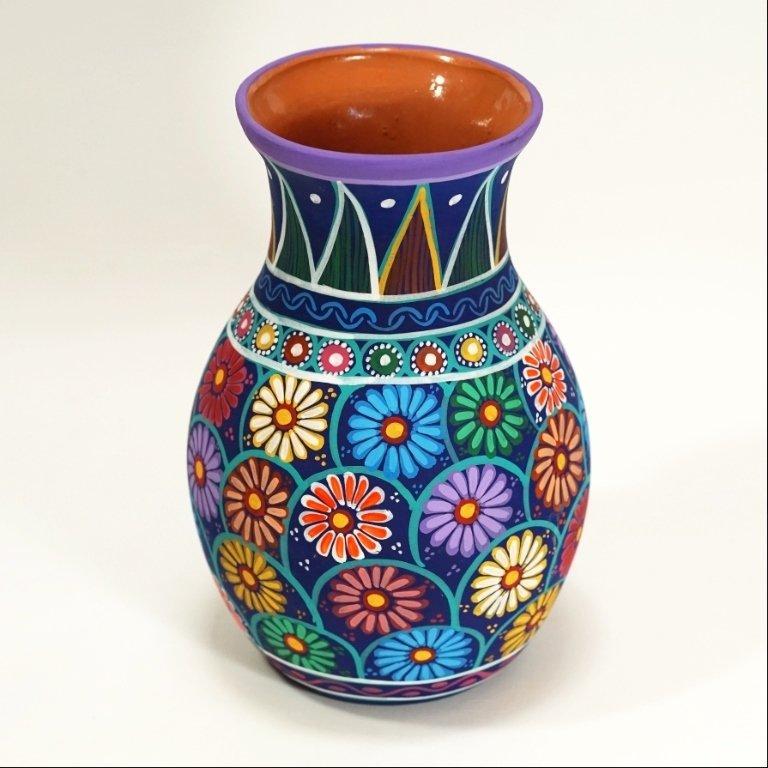 Ceramic Clay Guerrero Vase SO170046