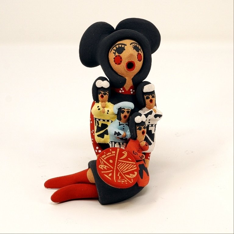 Pottery Storyteller Female GA170169