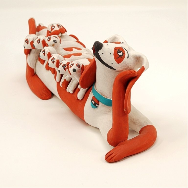 Pottery Storyteller Wiener Dog GA170177