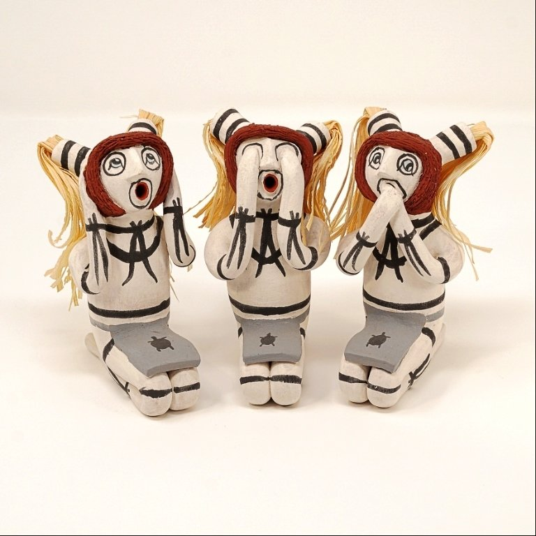 Pottery Storyteller Clown Set GA170178