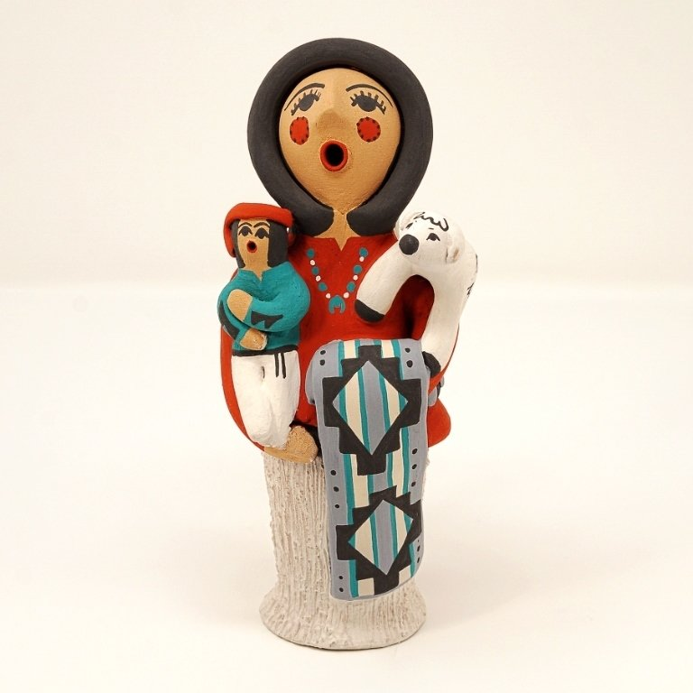 Pottery Storyteller Female GA170180