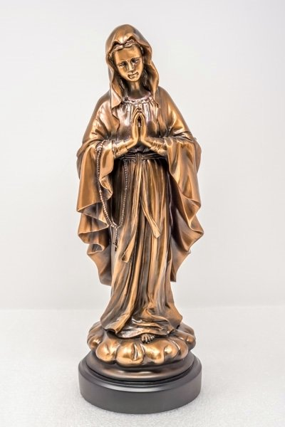 Copper Plated Virgin Mary Statue SO180007