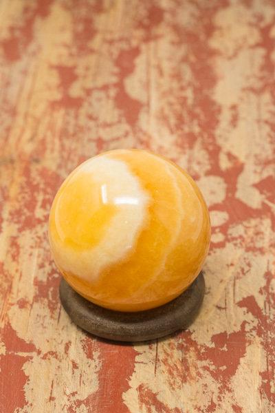 Orange Calcite Sphere CM180006