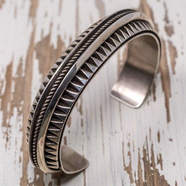 Sterling Silver Bracelet by L. Tahe JE180060