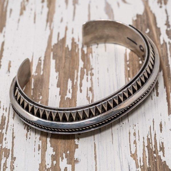 Sterling Silver Bracelet by L. Tahe