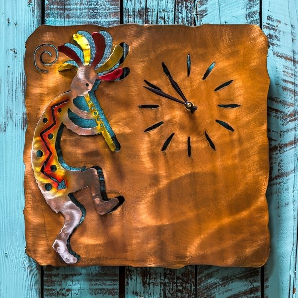 Metal Wall Clock - Kokopelli Large SG180060