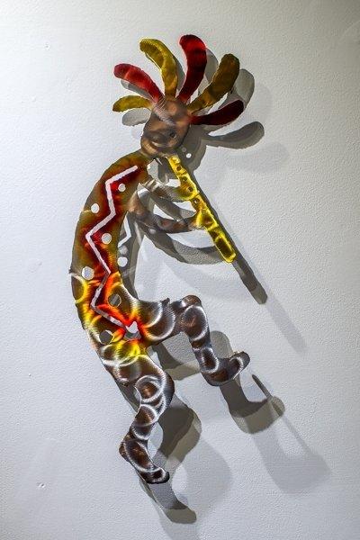 Metal Wall Art - Kokopelli SG180071