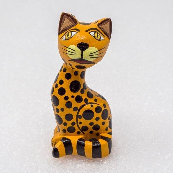Oaxacan Wood Carving - Leopard SO180024