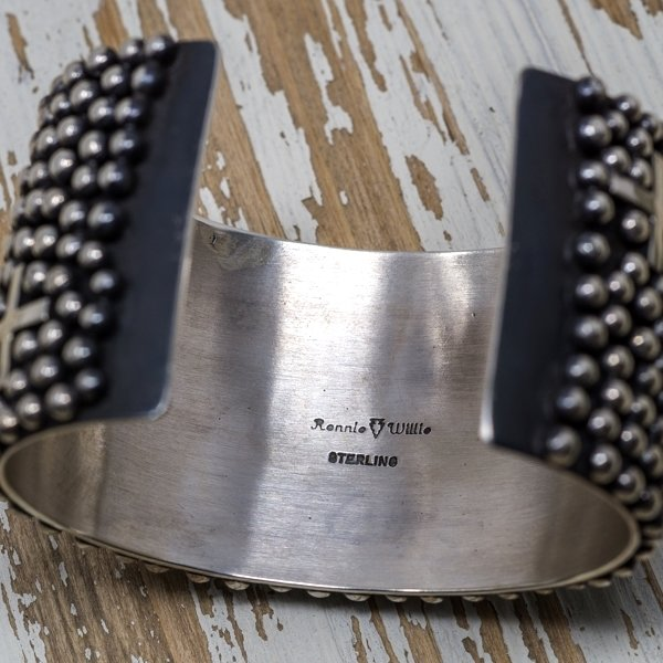Ronnie Willie Sterling Silver Cross Cuff