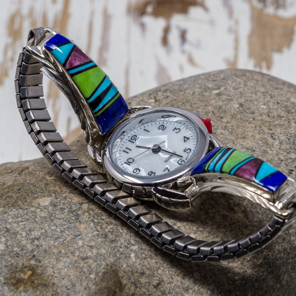 Multi-Stone Watch - Top View