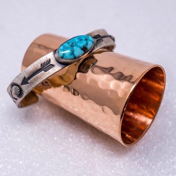 Elgin Tom Kingman Turquoise Bracelet JE180200