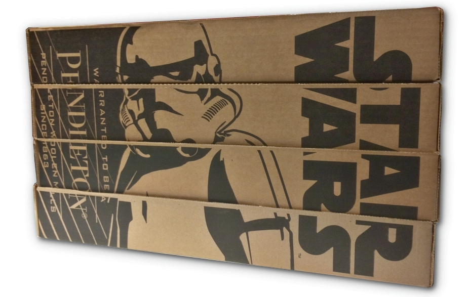 Star Wars Pendleton Blanket Collector Set - Side View 1