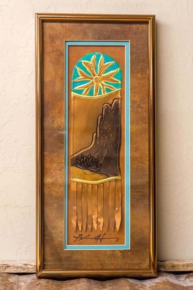 Glenn Hinz Copper Art - Landscape SG190001