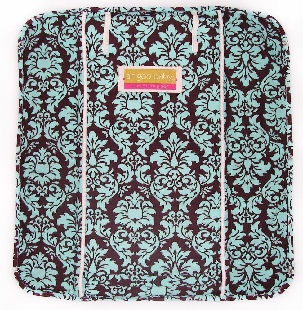 Ah Goo Baby Plush Pad - Vintage in Blue