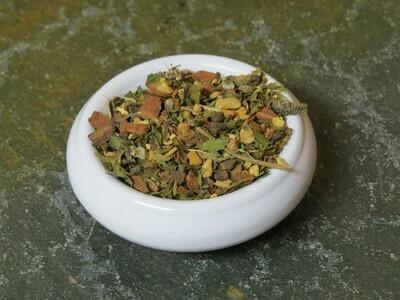 Emerald Flame (Organic Peppermint Chai)