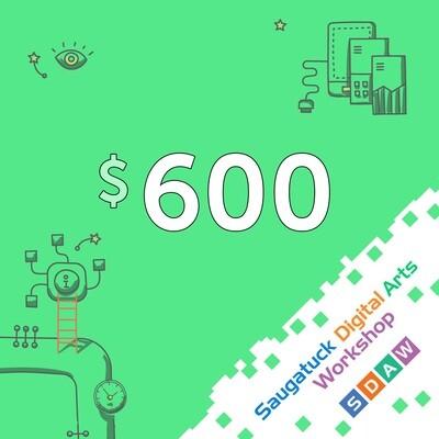 Private Lessons - $600