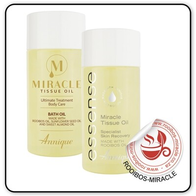 FREE Miracle Tissue Oil Bath 125ml with Miracle Tissue Oil 125ml | Annique