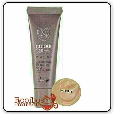 Foundations: Velvet Touch Natural Finish Spf 20 ~ Honey | Annique