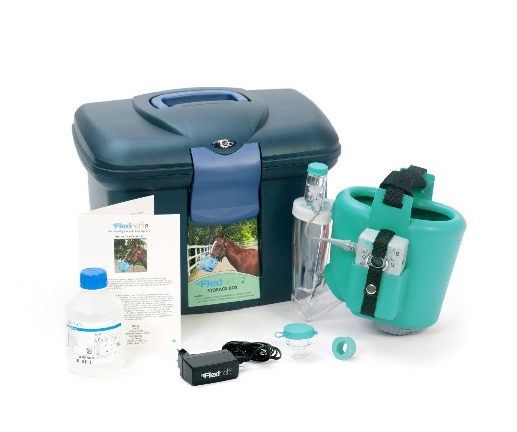Foal Size - FlexiNeb® E2 - Includes 1 extra Med Cup worth $80 FL-012 BLUE, FL-012 GREEN