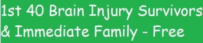 1st 40 Brain Injury Survivors & Immediate Family - Social #4