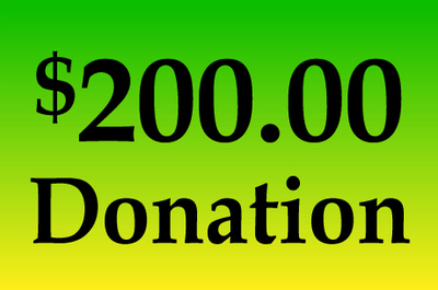 General Donation $200