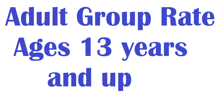 Ren. Fest. - Adult Group Rate (Ages 13 years and up)