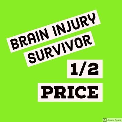 Oliver  - Brain Injury Survivor (1st 30 @ 1/2 regular price)