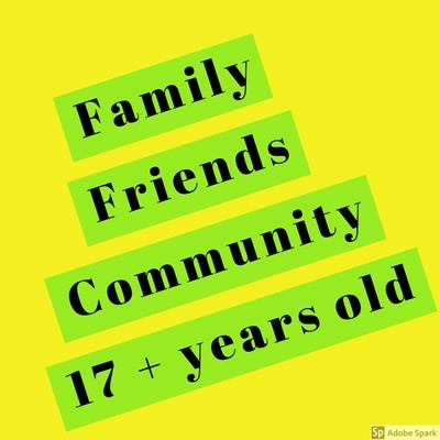 Electric Desert - Family / Friends / Community 17+ Years Old