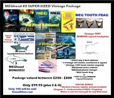 MEGhead #3 SUPER-SIZED Vintage Package
