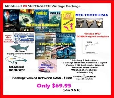 MEGhead # 4 SUPER-SIZED Vintage Package (No Special Occasion bonus)