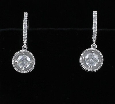 14KT 1.41 CT. TW. DIAMOND EARRINGS