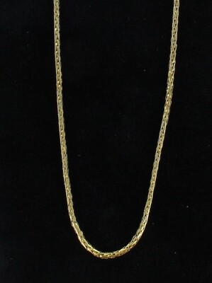 14KT SPIGA WHEAT CHAIN CIRCA 1930