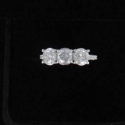 14KT 2.40 CT TW ROUND BRILLIANT DIAMOND ENGAGEMENT RING