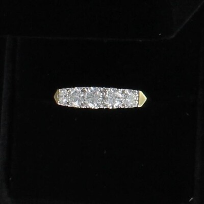 14KT 1.0 CT TW DIAMOND BAND