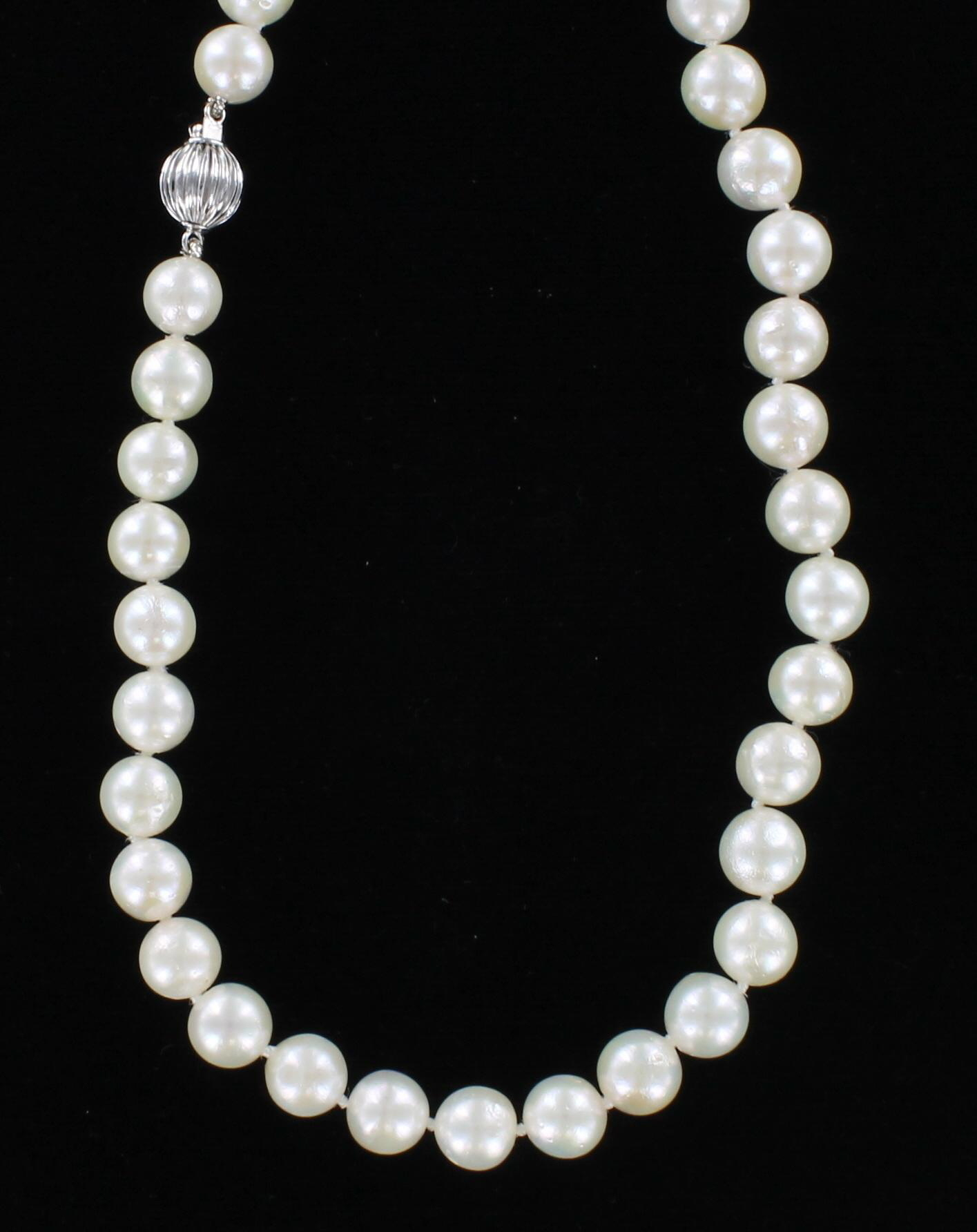14KT PEARL NECKLACE 101-2615