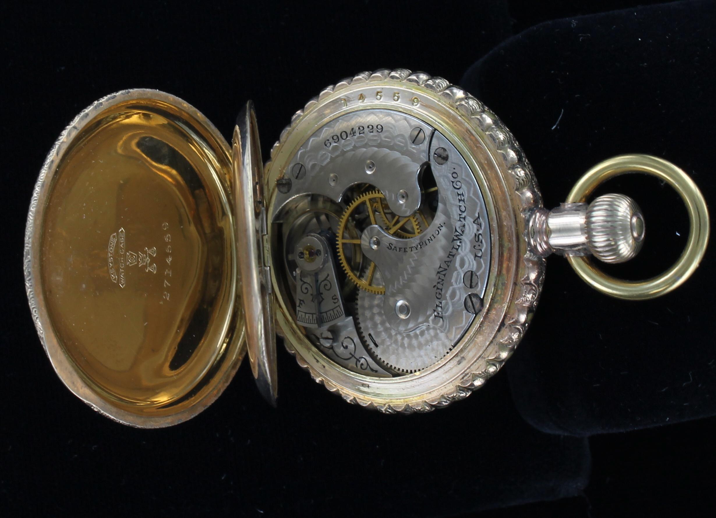 GOLD-FILLED POCKET WATCH CIRCA 1930