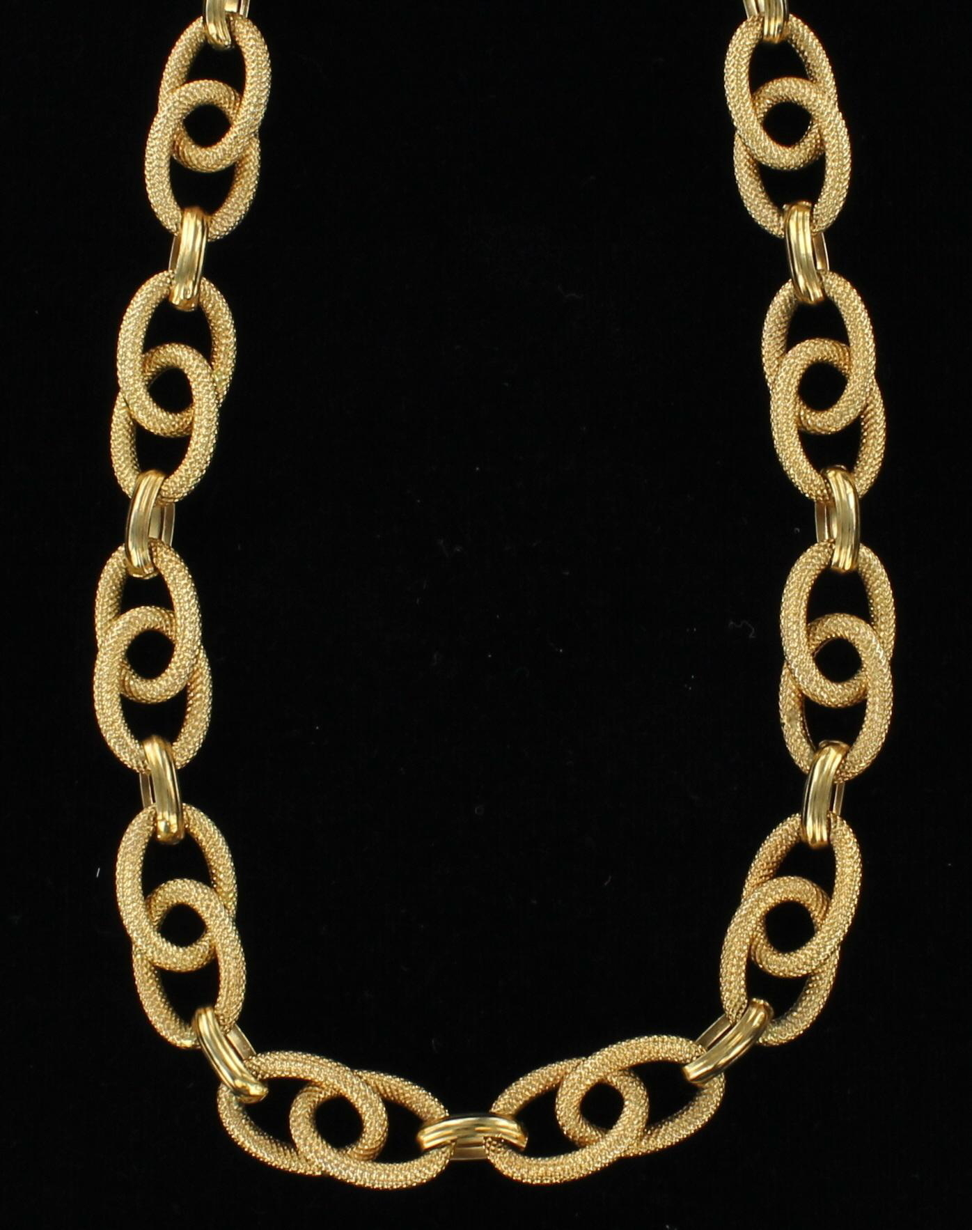 18KT CHAIN/NECKLACE 205-2214