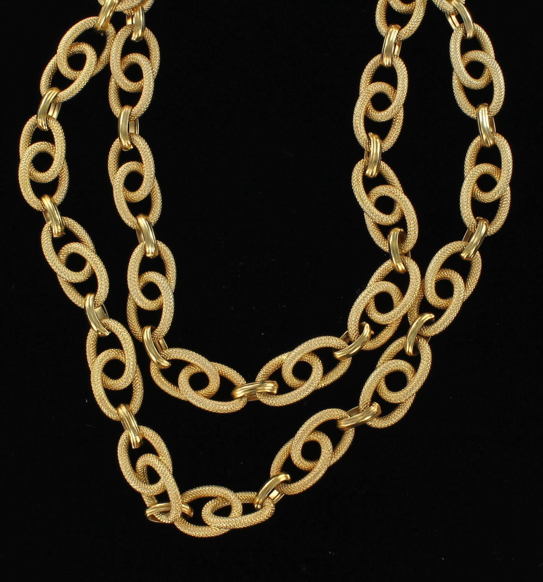 18KT CHAIN/NECKLACE