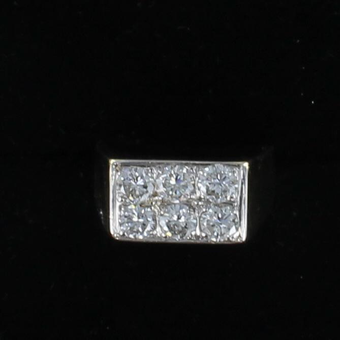 18KT 2.0 CT TW DIAMOND RING 205-2270