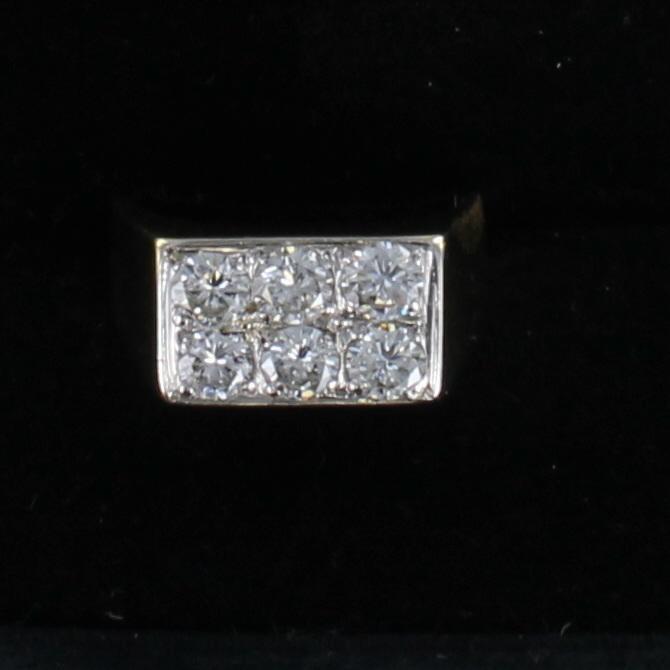 18KT 2.0 CT TW DIAMOND RING