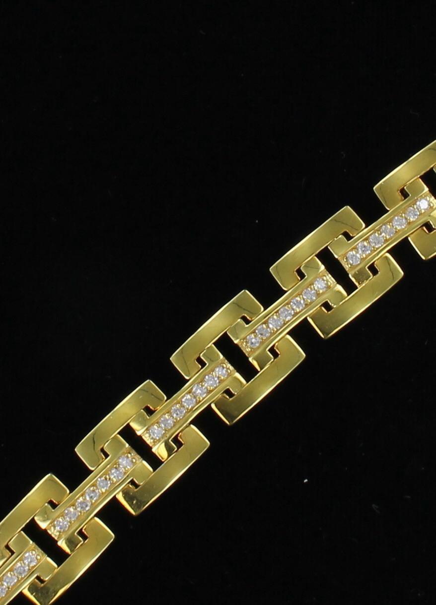 14KT 3.0 CT TW DIAMOND BRACELET